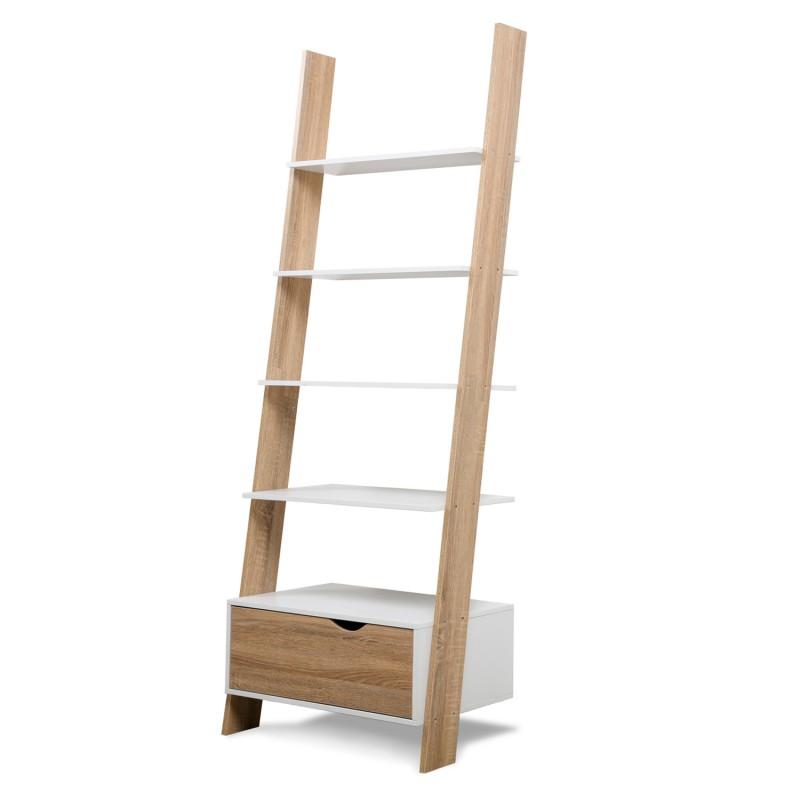tag re chelle scandinave bois blanc meubles et am nagement. Black Bedroom Furniture Sets. Home Design Ideas
