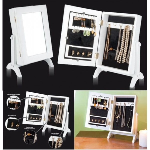miroir range bijoux awesome porte bijoux robe retro chapeau cm with miroir range bijoux. Black Bedroom Furniture Sets. Home Design Ideas