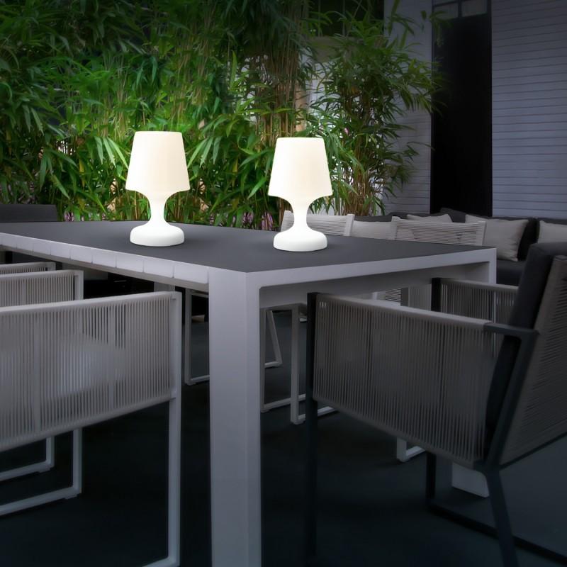 Extérieur Lampe Led Nomade Intérieur Eclairage X2 Sans Fil À Et tsrdChQx