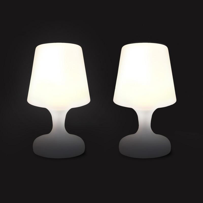 Lampe A Led Nomade X2 Sans Fil Exterieur Et Interieur Eclairage Et