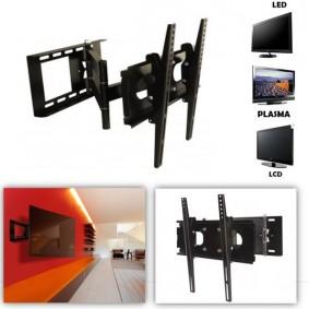 """Support pivotant et inclinable mural pour tv LCD Plasma LED 32 à 47"""" norme VESA"""