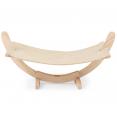 Hamac en bois pour chat coloris beige