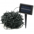 Guirlande solaire 1000 led multicolores décoratives