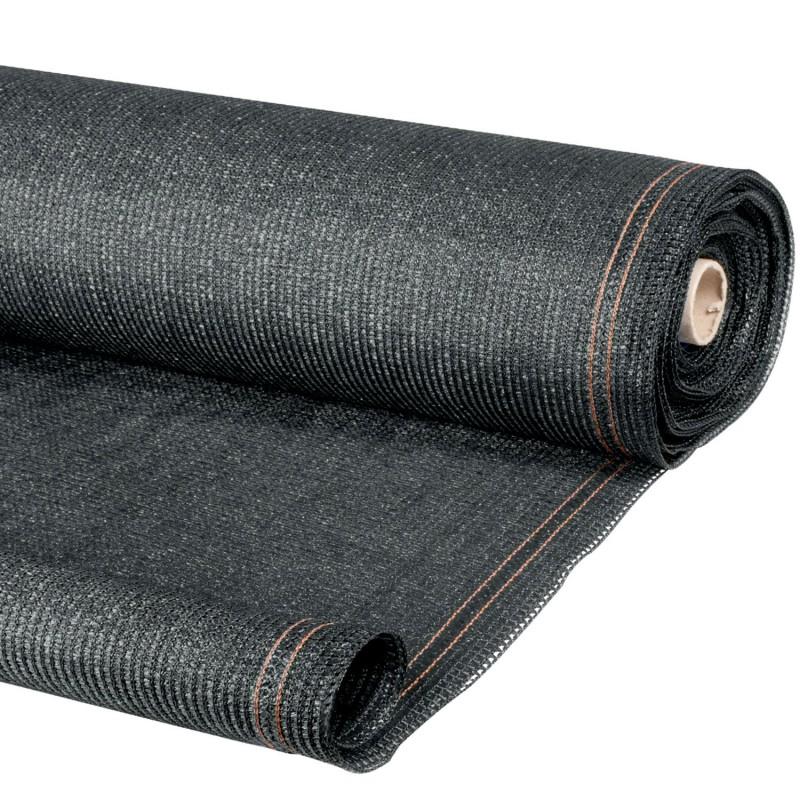 brise vue gris 1 5m x 10m occultant 220g m id market. Black Bedroom Furniture Sets. Home Design Ideas