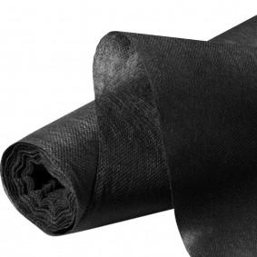 Feutre toile de paillage 1m x 15 m noir
