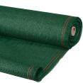Brise vue vert 1 x 10 m 90 gr/m² classique