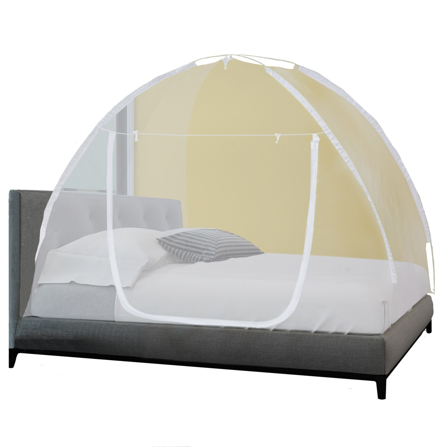 Moustiquaire Dome Pop Up 190 X 125 Cm Mobile Pour Lit Anti Moustiq