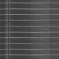 Kit de lamelles occultantes PVC grises L.60 m pour panneau grillagé