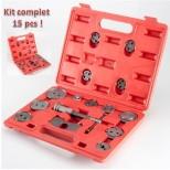 Coffret kit repousse piston 15 pcs spécial étrier de frein