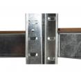Etagère d'angle 5 plateaux charge lourde 1325 kg en acier