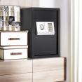 COFFRE FORT ACIER MASSIF COMBINAISON DIGITALE + CLES