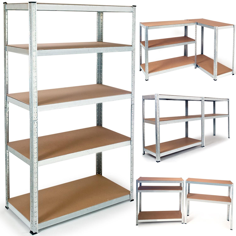 3 etageres charges lourdes pour 3 fois plus de rangement. Black Bedroom Furniture Sets. Home Design Ideas