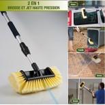 Brosse de lavage auto 2 en 1 blaster brush TV