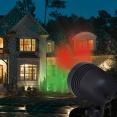 Lot de 3 projecteurs laser 1000 points lumineux éclairage façade vert et rouge
