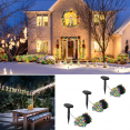Lot de 3 guirlandes 50 LEDS solaires multicolores décoratives
