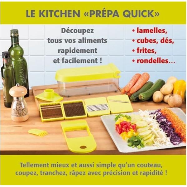Mandoline r pe kit coupe l gumes multifonctions sp cial chef - Coupe legumes multifonction ...