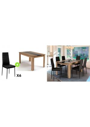Invitez le style contemporain dans votre salle à manger !