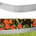 Bordurette de jardin x5 en acier L. 5 x H. 0.14 M