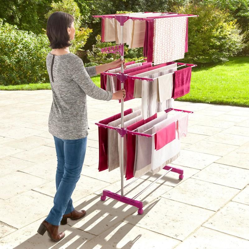 s choir linge inox maxima prune tendoir pliable cm. Black Bedroom Furniture Sets. Home Design Ideas