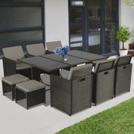 Salon de jardin pas cher : table et chaises - IDMarket.com