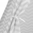 Tipi d'indien à motifs zébrés gris et blanc pour enfant