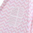 Tipi d'indien à motifs zébrés rose et blanc pour enfant