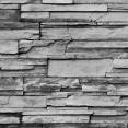 Brise vue occultant 1.5 x 10 m motif roche 160 GR/M²