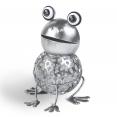 Grenouille en métal éclairage extérieur à LED solaire