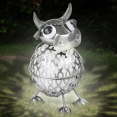 Vache en métal éclairage extérieur à LED solaire