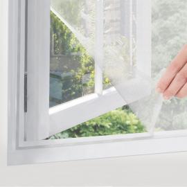 Moustiquaire fenêtre 130 x 150 cm avec ruban auto-adhésif