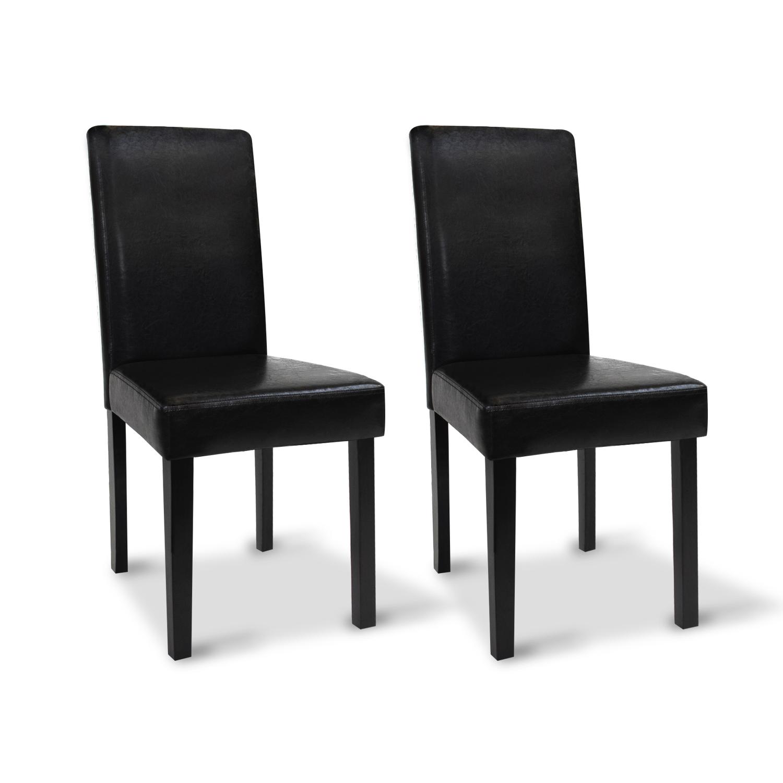 Chaises noires pas ch res pour salle manger hannah Photos chaises salle a manger
