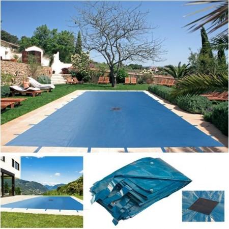 B che piscine 7x13m for Oeillet bache piscine