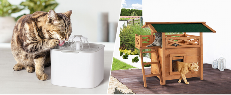 Niches pour chat