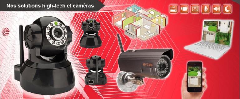 Produits high-tech et caméras