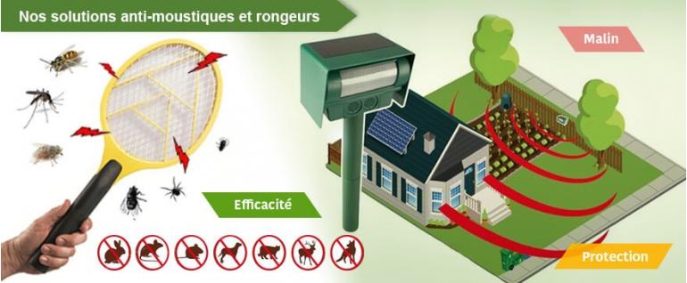 Anti-moustiques et rongeurs