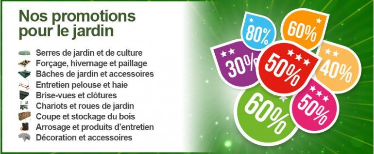 Promotions Jardin