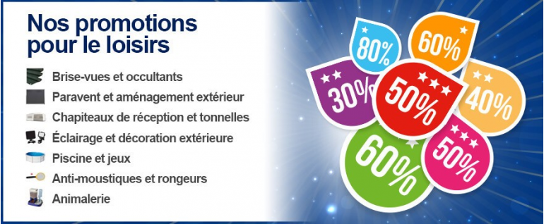 Promotions Loisirs